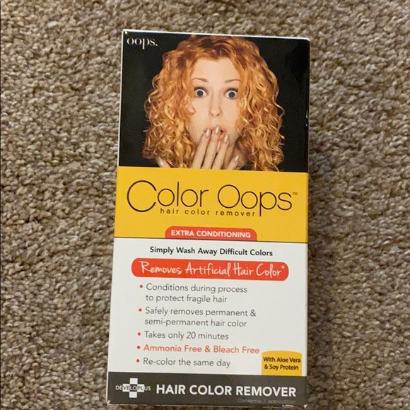 Color Oops Hair Color Oops Hair Color Remover Extra Conditioning Poshmark Color oops hair color remover, it's a revolutionary hair product. color oops hair color remover extra conditioning